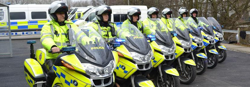 police-bikes