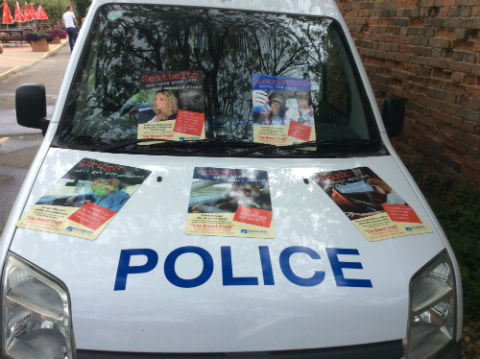 police van web