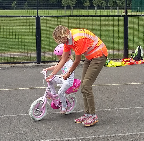 """Bikeability Learn to Ride"" sessions are for children or adults who are  unable to cycle. This includes anything from those struggling to master the  skill, ..."