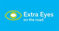 Extra Eyes logo blue