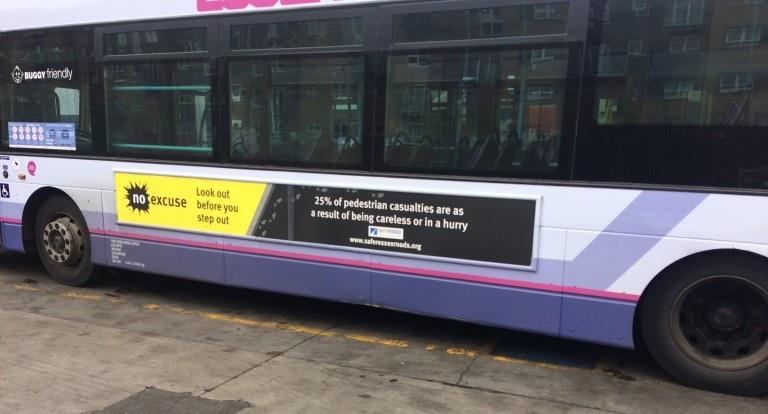 SERP campaign bus