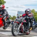 SERP motorcycle run home