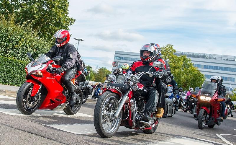 SERP motorcycle run