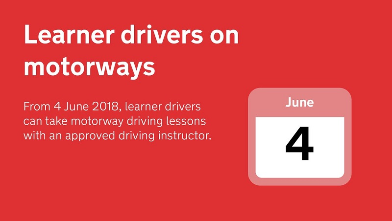 SERP Learner drivers motorway