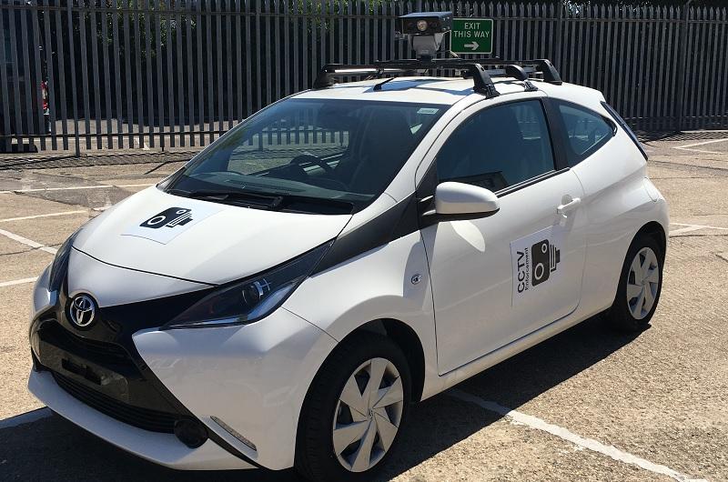 SERP Southend CCTV car