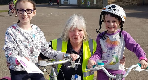 SERP Thurrock learn to ride home