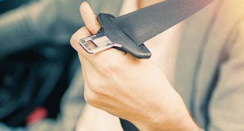 SERP seat belt home
