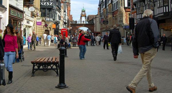 pedestrans-town-centre