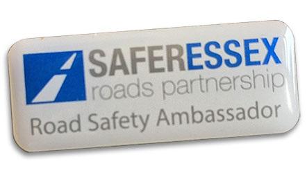 Road Safety Ambassador badge