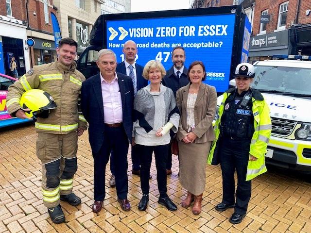 Vision Zero launch event in Chelmsford